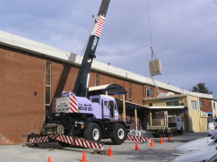Air Conditioning Lifts Crane Hire