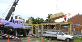 FRAME AND TRUSSES CRANES